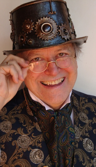 richard harland steampunk author photo